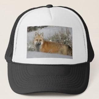 red-fox WIld Animal Gift idea Trucker Hat