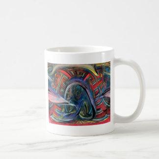 red fractal mugs
