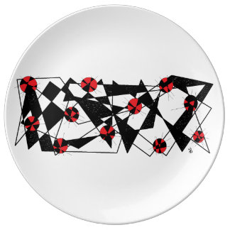 red fragma plate