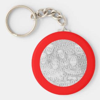 Red Frame Keychain