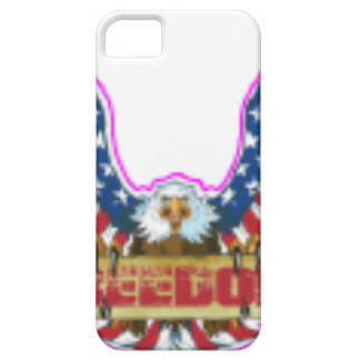 Red Freedom Eagle Banner iPhone 5 Cover