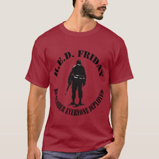 RED FRIDAY Men's Tshirt