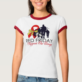 Red Friday - Support Our Troops Tshirts