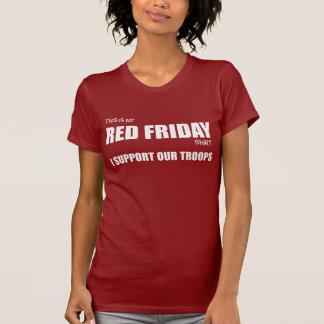Red Friday Tee Shirt
