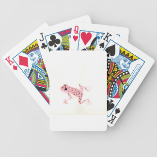 Red Frog Bicycle Playing Cards
