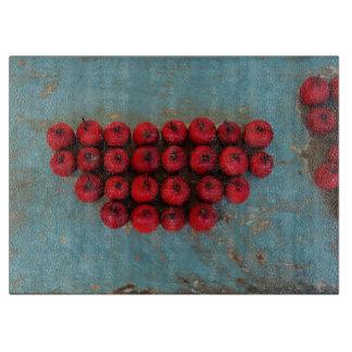 Red Fruits Still Life Art Cutting Board