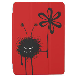 Red Funny Gothic Evil Flower Bug iPad Air Cover