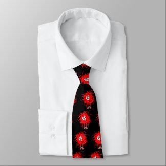 Red Fuzzball Tie