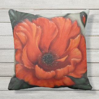 Red GabyJavy cushion of flower