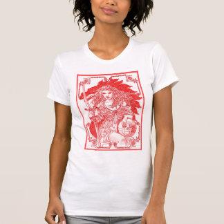 Red Gaia Globe Tshirts