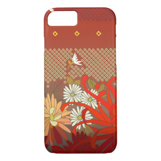 Red Garden with Daisies iPhone 8/7 Case
