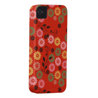 red garden with vines iPhone 4 covers