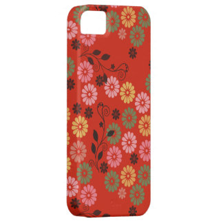 red garden with vines iPhone 5 case