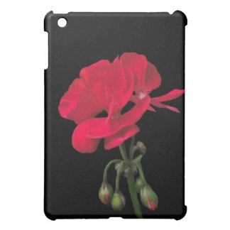 Red Geranium Blossom iPad Case