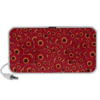 Red Gerber Daisies Notebook Speaker