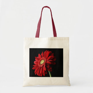 Red Gerber Daisy Environmental Tote Bag