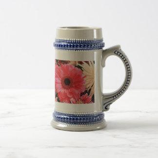 Red Gerbera Daisy Coffee Mug