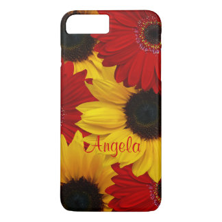 Red Gerbera Daisy Yellow Sunflower iPhone 6 case