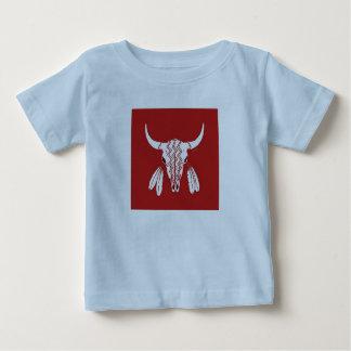Red Ghost Dance Buffalo baby boys blue shirt