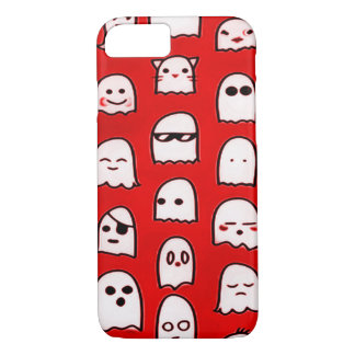 Red Ghost Party Airbrush Art iPhone iPhone 7 Case