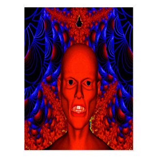 Red Ghoul Postcard