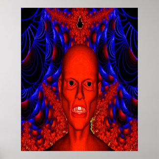 Red Ghoul Print