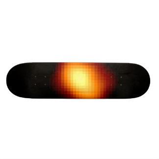 Red Giant Star Mira's Football Shape Skate Board Deck