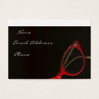 Red Glasses by Leslie Harlow - Customized