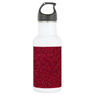 Red Glitter 532 Ml Water Bottle