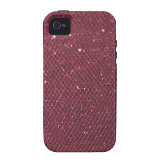Red Glitter Case For The iPhone 4