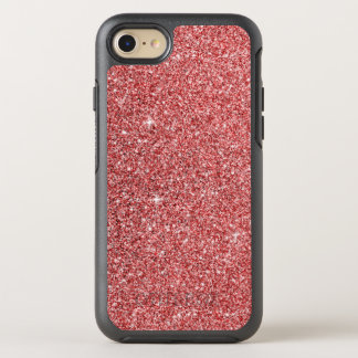 Red Glitter Effect OtterBox Symmetry iPhone 8/7 Case