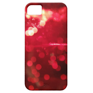 Red Glitter Glamour iPhone 5 case