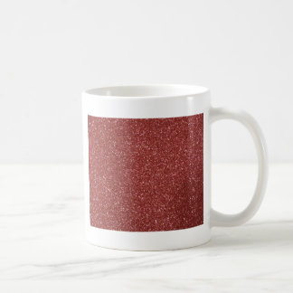 Red Glitter Coffee Mug