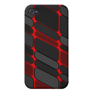 red glow iPhone 4 case