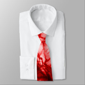 Red Gnarled Mold Tie