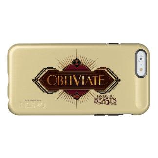 Red & Gold Art Deco Obliviate Spell Graphic Incipio Feather® Shine iPhone 6 Case