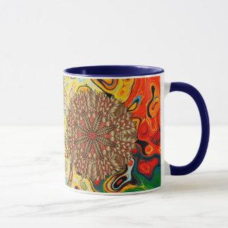 Red Gold Fall Nature Festival Mug