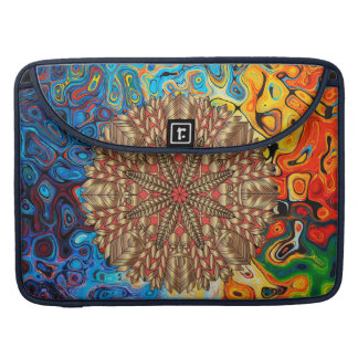 Red Gold Fall Nature Festival Sleeve For MacBook Pro