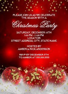 Christmas Invitation.Christmas Invitations Announcements Zazzle Com Au
