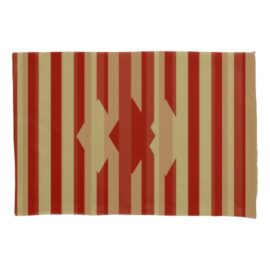 Red Gold Reversible Pillowcase