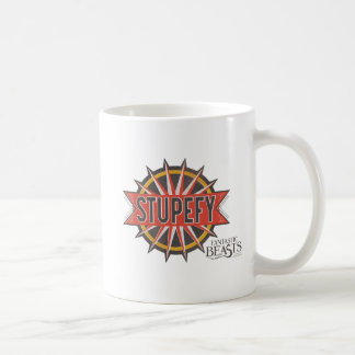 Red & Gold Stupefy Spell Graphic Coffee Mug
