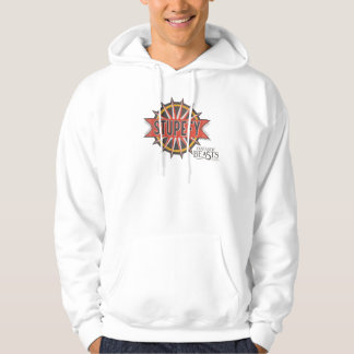 Red & Gold Stupefy Spell Graphic Hoodie