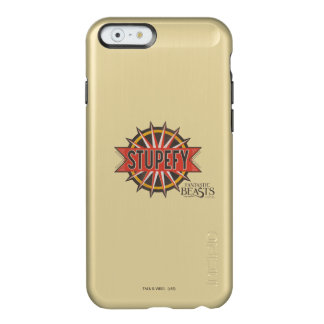 Red & Gold Stupefy Spell Graphic Incipio Feather® Shine iPhone 6 Case