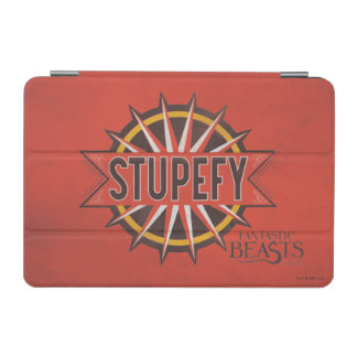 Red & Gold Stupefy Spell Graphic iPad Mini Cover