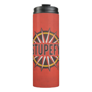 Red & Gold Stupefy Spell Graphic Thermal Tumbler