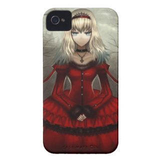Red Gothic iPhone 4 Cover