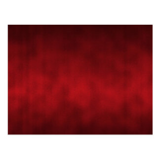 Red Gothic Ombre Background Art Postcard