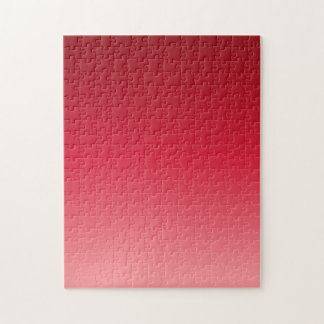 Red Gradient Jigsaw Puzzle