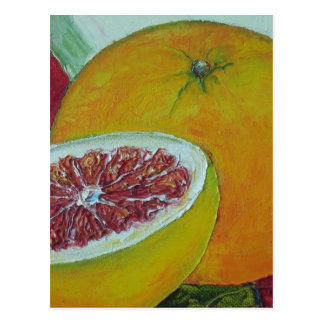Red Grapefruit Postcard