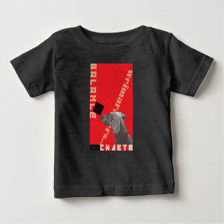 RED GRAPHIC WEIM BABY T-SHIRT